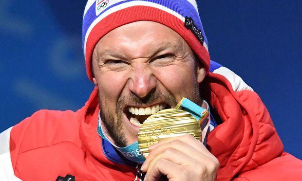Aksel Lund Svindal kostet nach 2010 wieder den Geschmack von Olympia-Gold.