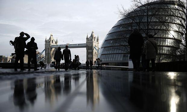 sieh mich jetzt London Zukunft an