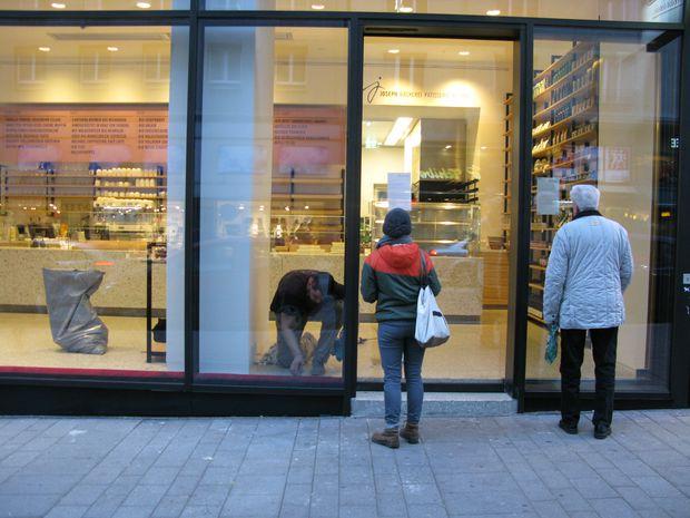 Die Bäckerei Joseph in der Landstraßer Hauptstraße hat vorübergehend geschlossen.