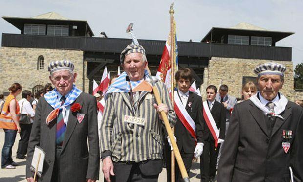 Gedenken im Mauthausen