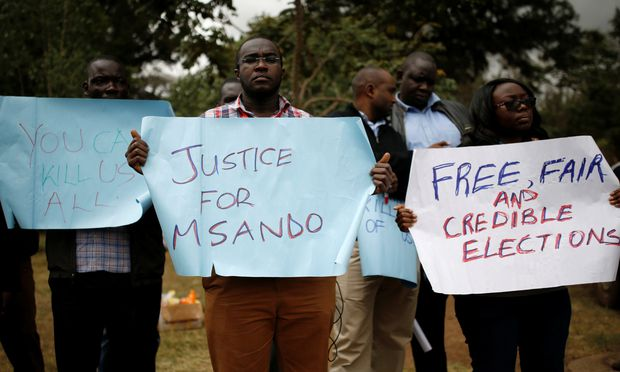 Mitarbeiter von Kenias Wahlkommission ermordet