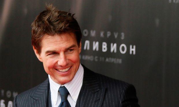 Tom Cruise präsentiert