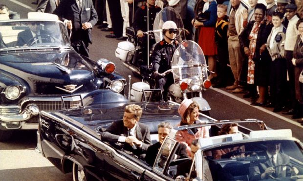 John F. Kennedy am 22. November 1963