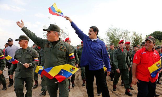 Venezuelas Präsident Nicolas Maduro setzt nun auf Verhandlungen.