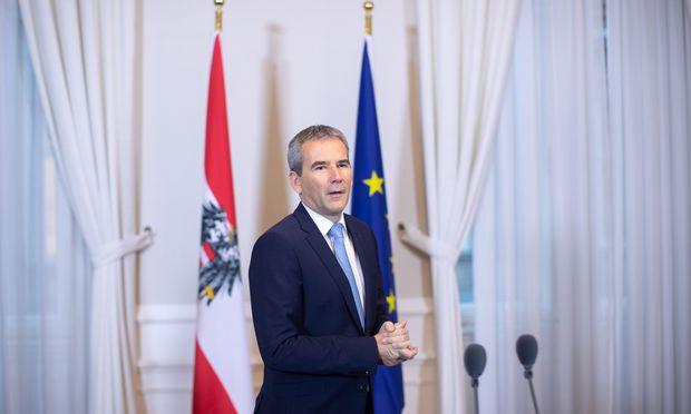 Es wird auf absehbare Zeit keine EU-Steuer auf Finanztransaktionen geben, erklärte Finanzminister Hartwig Löger.