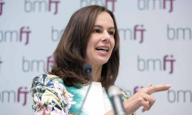 Familienministerin Sophie Karmasin (ÖVP)