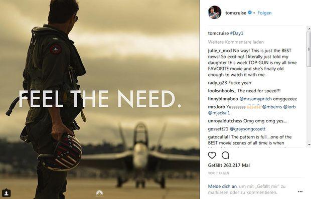Val Kilmer kehrt mit Tom Cruise in
