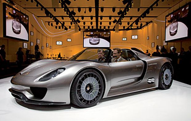 porsche 918 spyder supersportler als 3 liter auto. Black Bedroom Furniture Sets. Home Design Ideas