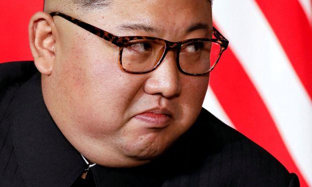 Lässt sich als großer Sieger feiern: Diktator Kim Jong-un.