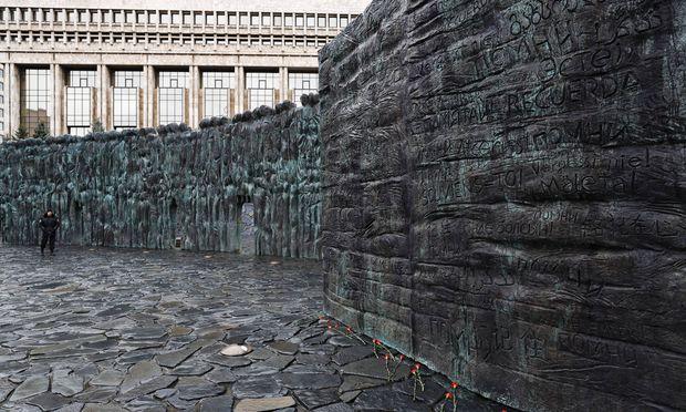 Franguljans Denkmal für die Millionen Opfer der Sowjetmacht.