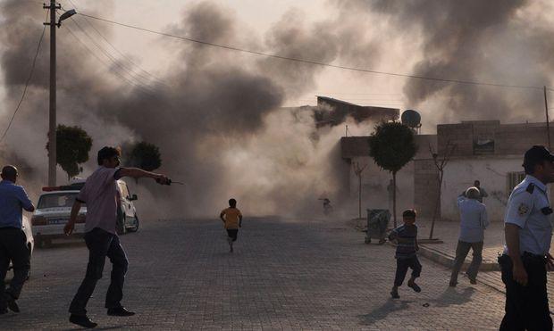 Tote Tuerkei SyrienKaempfe schwappen