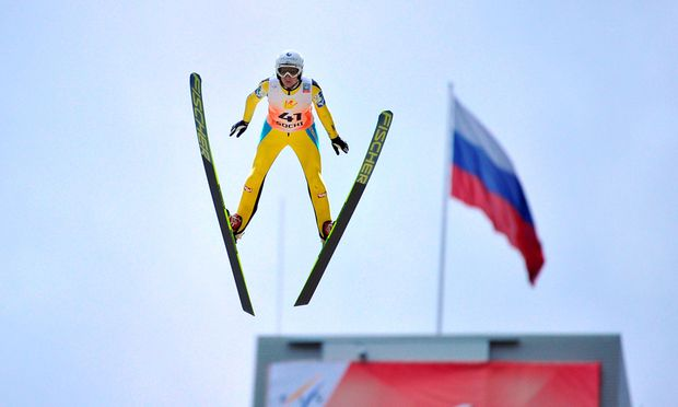 Skispringen Iraschko gewann OlympiaGeneralprobe