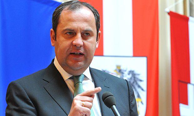 Finanzminister Josef Pröll