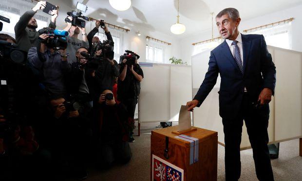Andrej Babiš: Wahlgewinner in Tschechien. / Bild: REUTERS