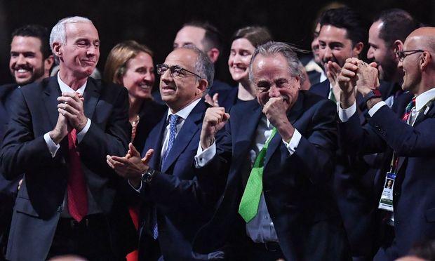 Die WM 2026 wird in drei Ländern stattfinden: USA, Mexiko und Kanada.