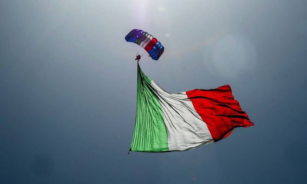 Harter Aufprall oder sanfte Landung? Das ist für Italien noch nicht entschieden.