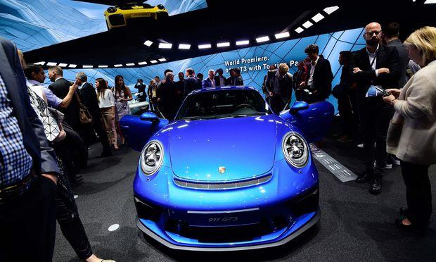 Wann gibt Porsche an der Börse endlich richtig Gas? / Bild: APA/AFP/TOBIAS SCHWARZ