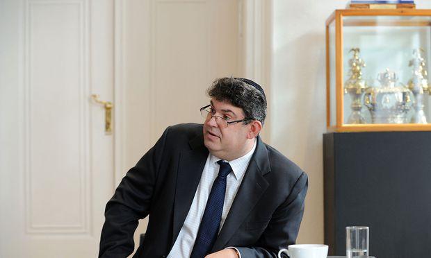 IKG-Präsident Oskar Deutsch.