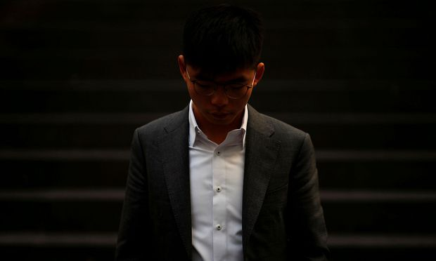 Joshua Wong ist ein berühmtes Gesicht der Protestbewegung in Hongkong.