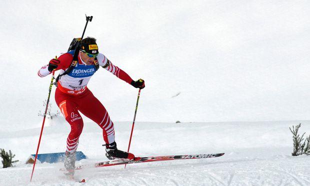 Biathlon oeSVStaffel Hochfilzen Vierter
