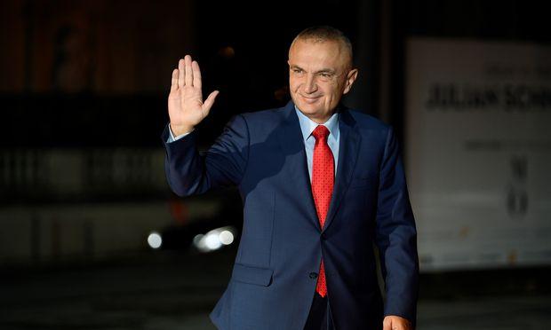 Der albanische Präsident Ilir Meta.