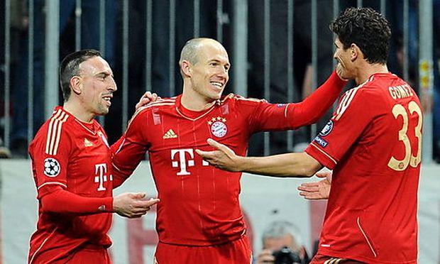 Ribery, Robben, Gomez