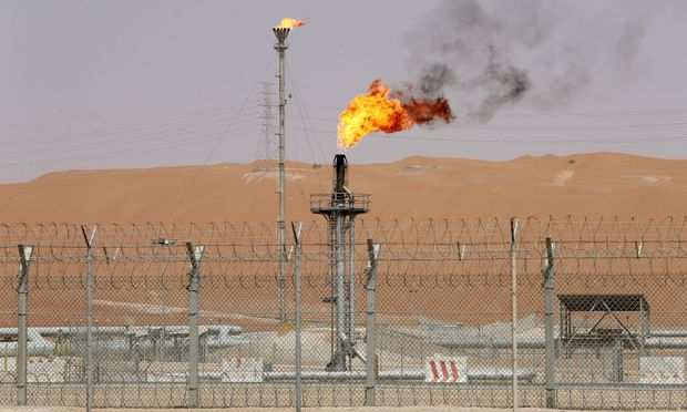 Das Khurais-Ölfeld, etwa 160 Kilometer von Saudiarabiens Hauptstadt Riad entfernt. / Bild: REUTERS