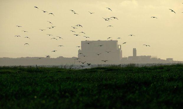 Archivbild: Das britische Atomkraftwerk Hinkley Point