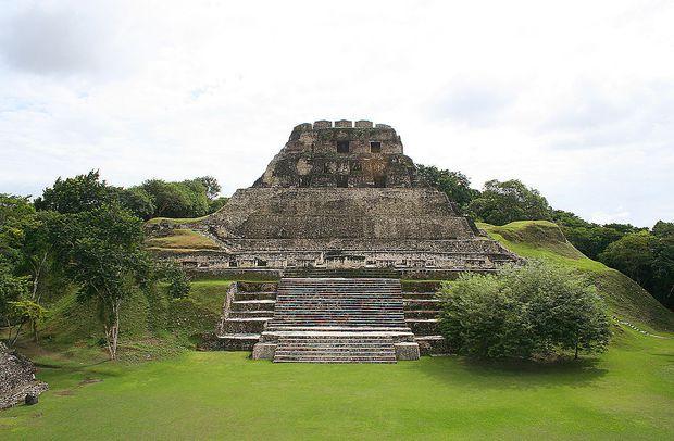 Teil der Tempelanlage von Xunantunich