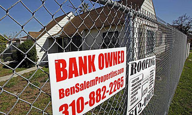 Wieder mehr Kreditausfaelle Hausbesitzern