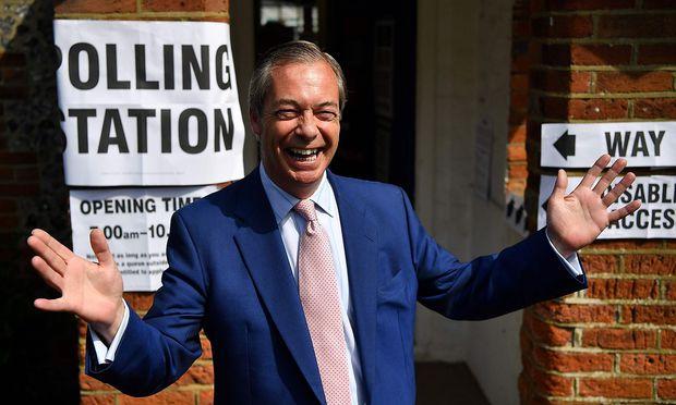 Brexit-Partei stärkste Kraft bei Europawahl in Großbritannien