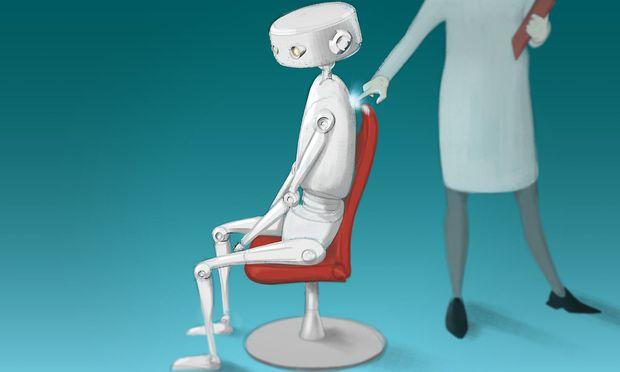 Karriere Roboter Kollegen