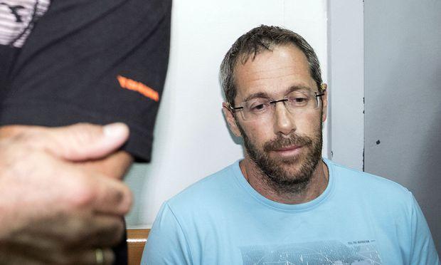 Silberstein nach seiner Festnahme in Israel