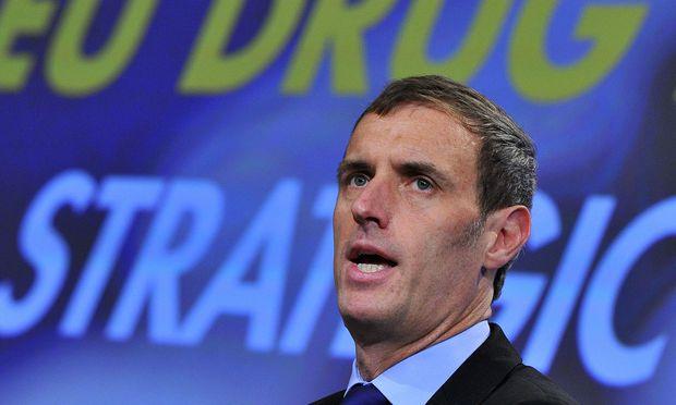 Europol-Chef Rob Wainwright  / Bild: AFP (GEORGES GOBET)