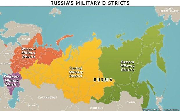 Russlands Militärbezirke