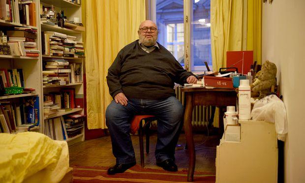 Philosoph und Schriftsteller Franz Schuh.