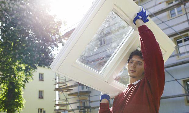 Fenster sind die energetischen Schwachstellen von alten Gebäuden.