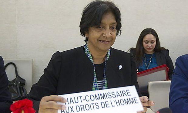 Navanethem Pillay, Hohe Kommissarin der Vereinten Nationen für Menschenrechte