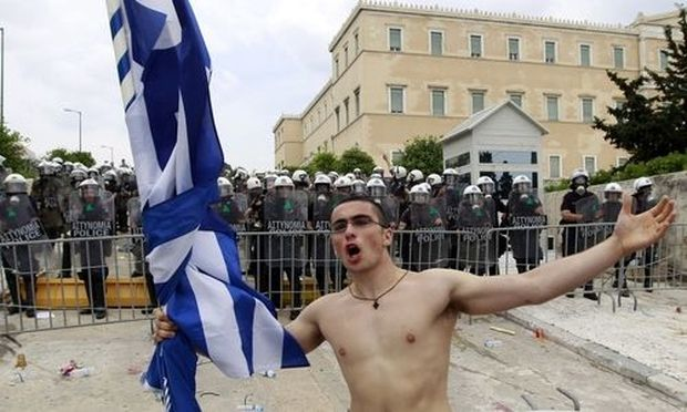 Unruhen in Griechenland