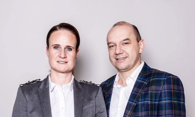 Karoline und Alois Strohmeier führen Steirerfleisch und haben mehr als 750 Mitarbeiter.