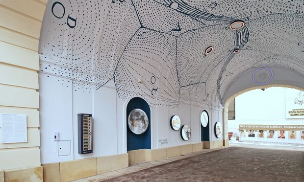 Mikromuseum: Sternenpassage, Museumsquartier.