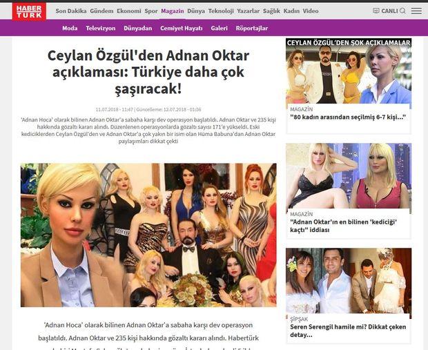 Die Anhängerinnen Oktars sind immer wieder Thema in türkischen Medien