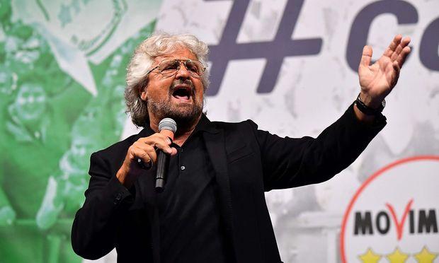 Beppe Grillo hofft, dass seine Bewegung in Zukunft überflüssig wird.