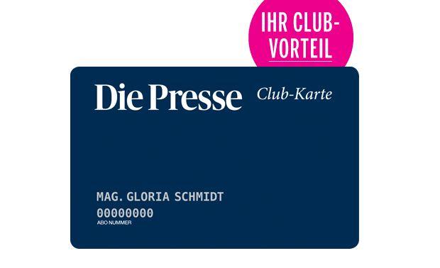 """Beispiel """"Die Presse""""-Club-Karte"""