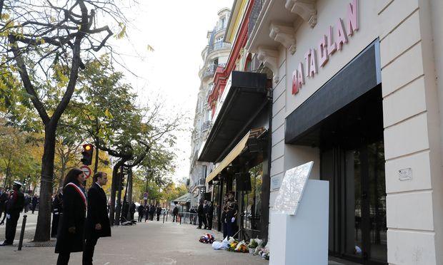 Frankreich gedenkt den Opfer der Paris-Anschläge vor zwei Jahren.