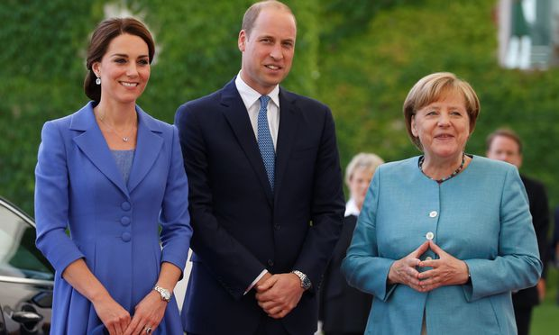 Prince William and his wife Catherine visit Germany / Bild: (c) REUTERS (AXEL SCHMIDT)