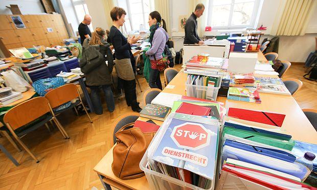 Ein Streik gegen das neue Dienstrecht ist geplant