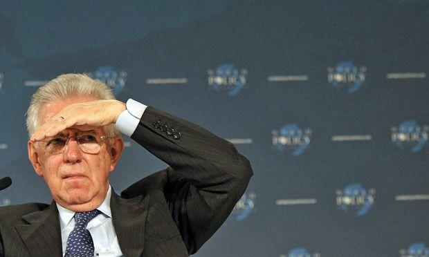 MontiRuecktritt stuerzt Italien neue