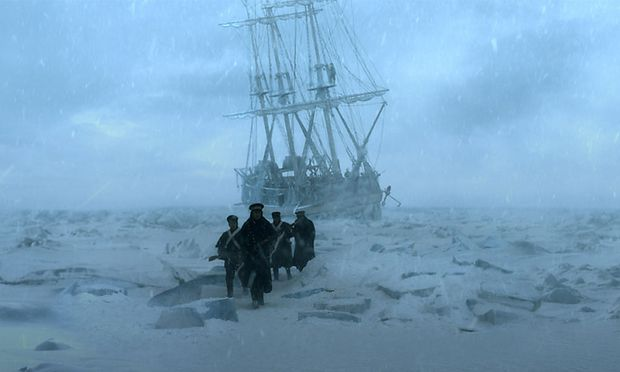 """The Terror"": Die historische Arktis-Expedition von Sir John Franklin als Horrortrip."