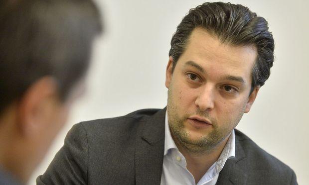 Der designierte Wiener FPÖ-Vizebürgermeister Dominik Nepp